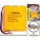 Wellson Piles rechargeables pour téléphone sans fil Model : 23