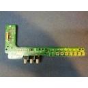 Hitachi Boutons de contrôle + Carte A/V JA08234-C / P42H401