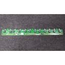 SAMSUNG Boutons de contrôle & Carte de capteur IR C650, BN41-01381A / LN40C610N1F
