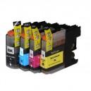 BROTHER LC101 Ensemble de cartouches d'encre noire et couleurs (C/M/Y) (Compatible )