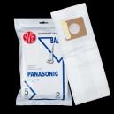 PANASONIC, CARPET-PRO, KENMORE sacs pour aspirateur TYPE U, U3 et U6