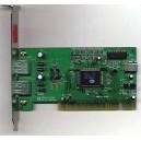 KaI6 usb 2 ports Carte PCI 0670B-400