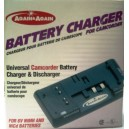 Again&Again Chargeur/Déchargeur Universel de Batterie pour Caméscope