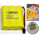 Wellson Piles rechargeables pour téléphone sans fil Model : 3
