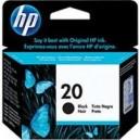 HP 20 Cartouche d'encre noire