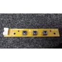 AKAI Boutons de contrôle - DVD E3731-051010 REV:0.2 / LCT3201ADC