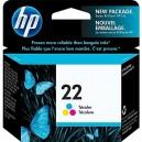 HP 22 Cartouche d'encre tricolore C9352AN