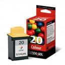 Lexmark 20 Cartouche d'encre couleur 15M0120